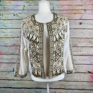 NWT GORGEOUS Embellished Jacket Cato